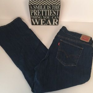 LEVI STRAUSS Classic Boot Jeans. Size 20W S.